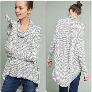 Akemi + Kin Anthropologie Knit high-low sweater S